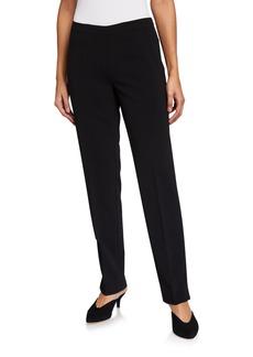 Lafayette 148 Bleecker Straight-Fit Pants