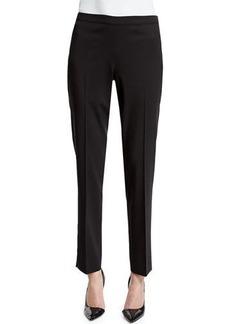 Lafayette 148 Bleecker Wool-Stretch Pants