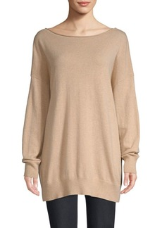 Lafayette 148 Boatneck Cashmere Sweater