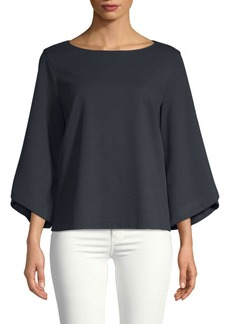 Lafayette 148 Boatneck Relaxed Top