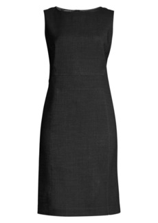 Lafayette 148 Brett Stretch Virgin-Wool Sheath Dress