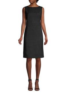 Lafayette 148 Brett Stretch Virgin-Wool Sheath Dress