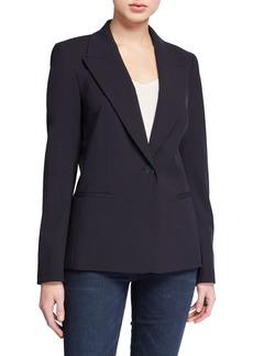 Lafayette 148 Briley Wool-Blend Blazer