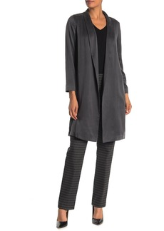 Lafayette 148 Brinsley Silk Duster Jacket