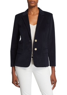 Lafayette 148 Camden Curated Corduroy Blazer Jacket