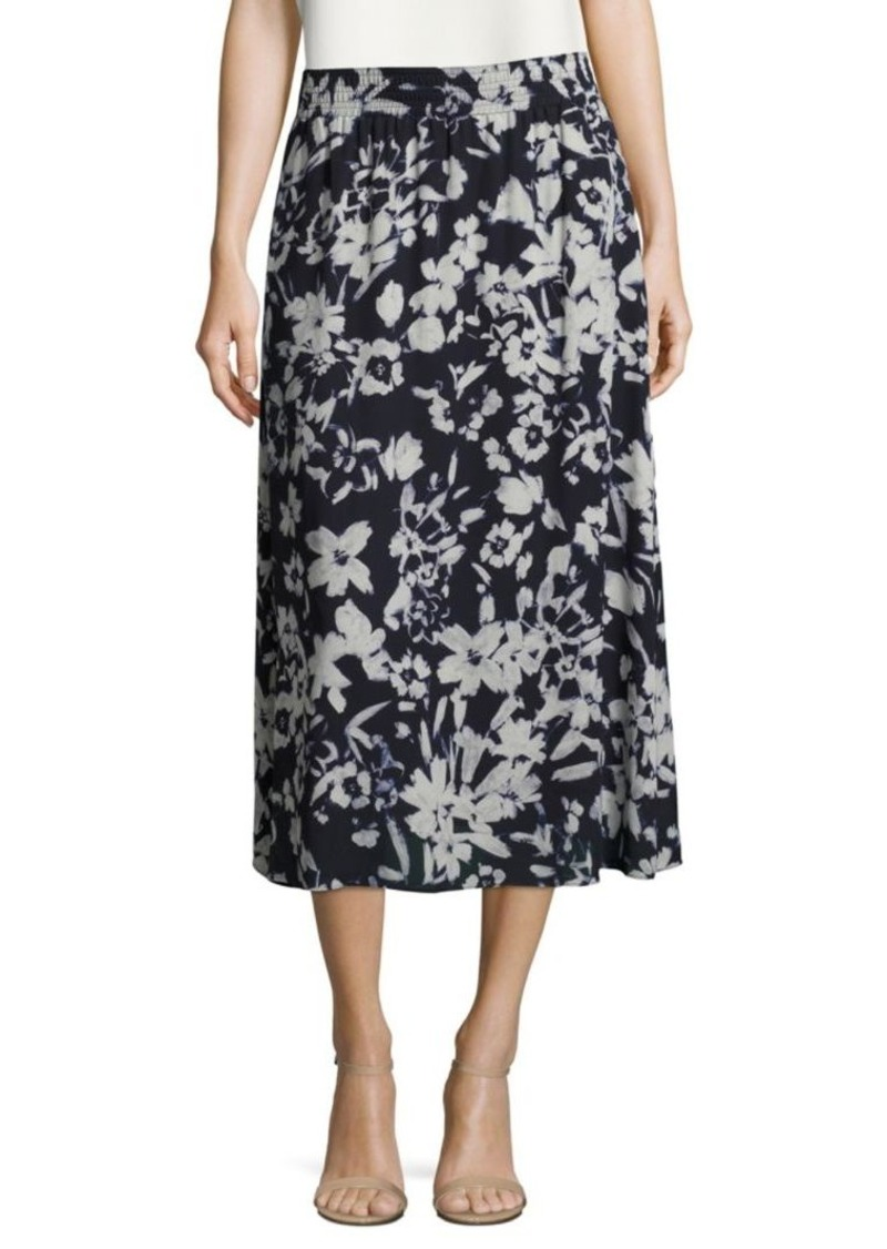 Lafayette 148 Camrie Floral Skirt