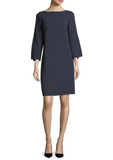 Lafayette 148 Candace Finesse-Crepe Dress