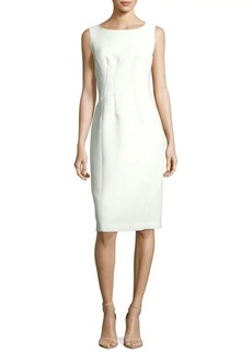 Lafayette 148 Carmela Solid Sheath Dress