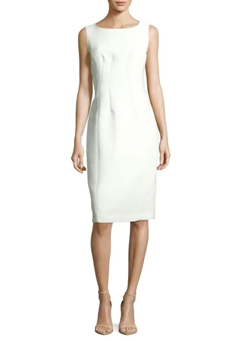 Lafayette 148 Carmela Solid Sheath Dress
