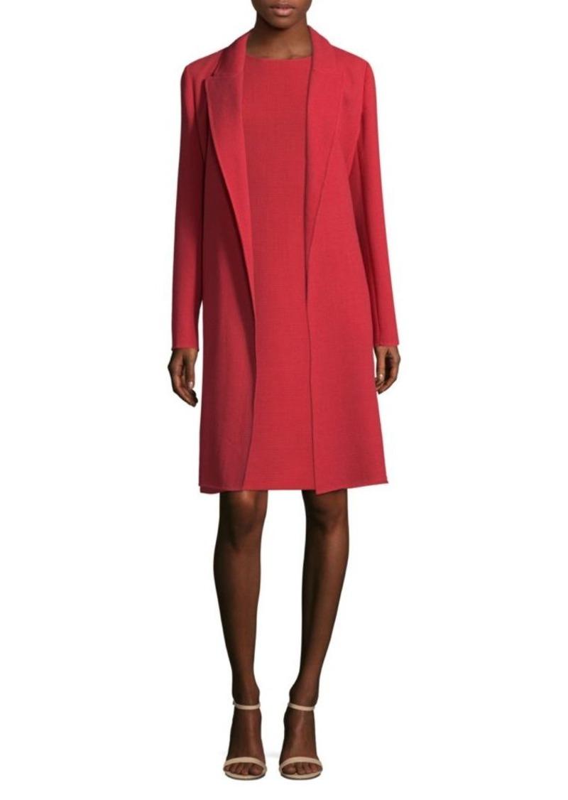 Lafayette 148 Carmelle Long Wool Coat