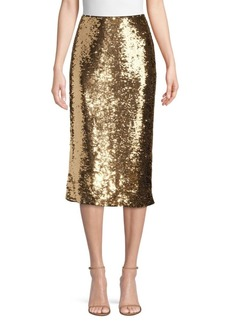 Lafayette 148 Casey Sequin Pencil Skirt