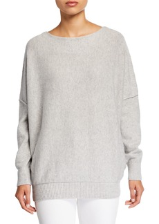 Lafayette 148 Cashmere Bateau-Neck Sweater