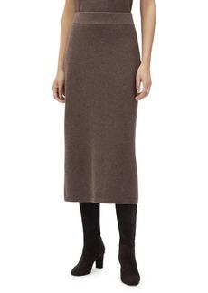 Lafayette 148 Cashmere Midi Skirt