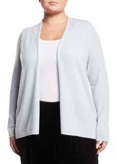 Lafayette 148 Cashmere Open Front Cardigan