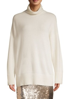 Lafayette 148 Cashmere Relaxed Turtleneck