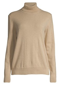 Lafayette 148 Cashmere Turtleneck Sweater
