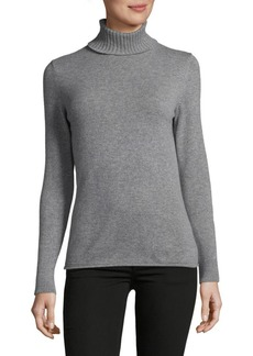 Lafayette 148 Cashmere Turtleneck Sweater