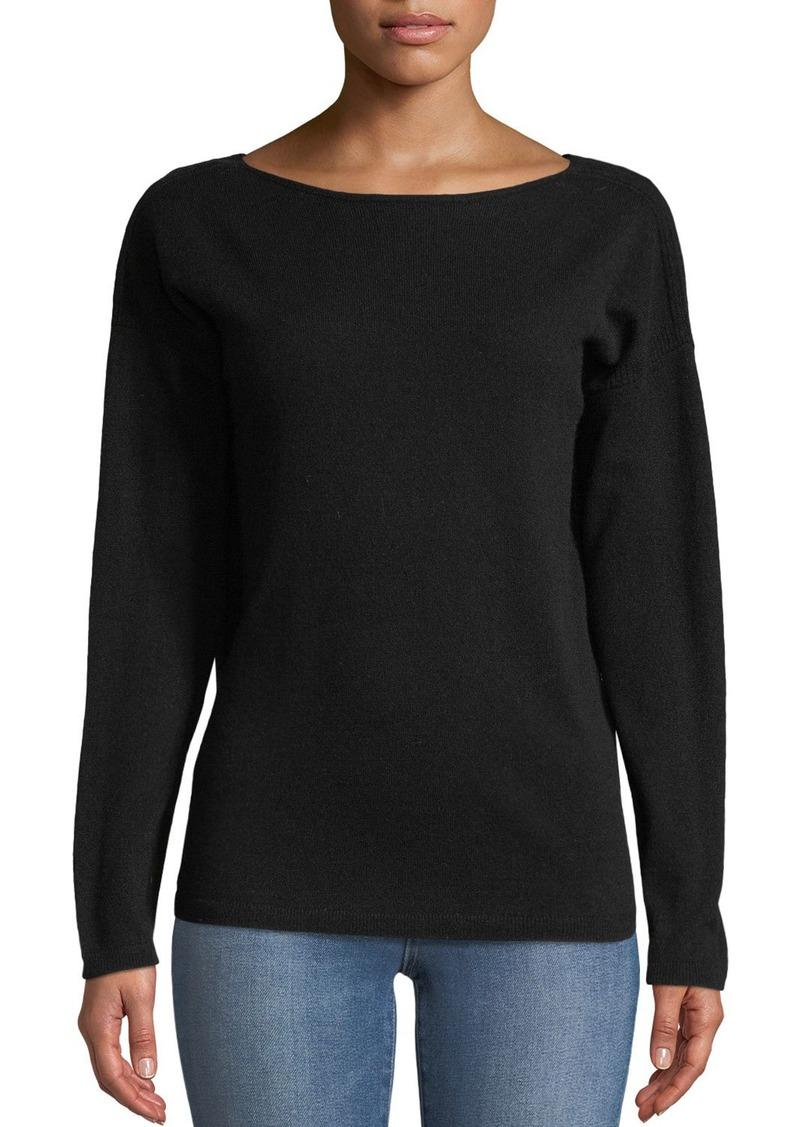42eda2d4013 Lafayette 148 Cashmere V-Back Sweater