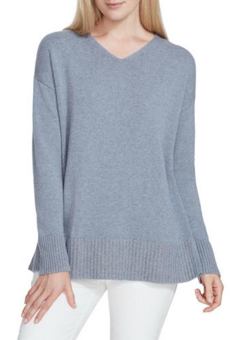 Lafayette 148 Cashmere V-Neck Sweater