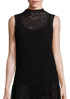 Lafayette 148 Chantilly Sleeveless Knit Top