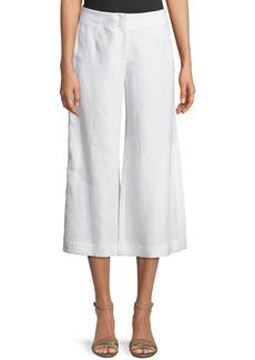 Charlton Cropped Linen Pants