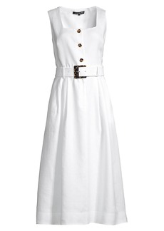 Lafayette 148 Chris Belted Dress