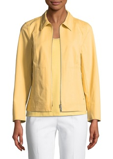 Lafayette 148 Chrissy Fundamental Bi-Stretch Jacket