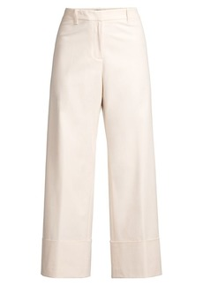 Lafayette 148 Clark Cuffed Cropped Pants