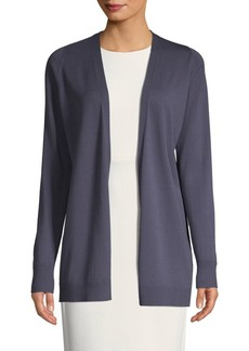Lafayette 148 Classic Open-Front Cardigan
