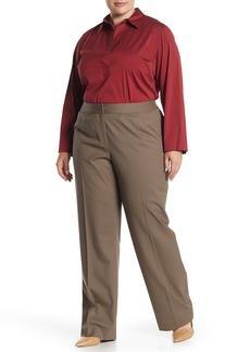 Lafayette 148 Classic Wool Blend Dress Pants (Plus Size)