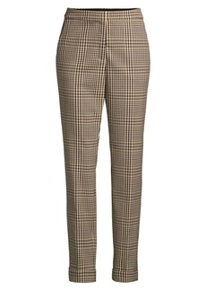 Lafayette 148 Clinton Plaid Pants