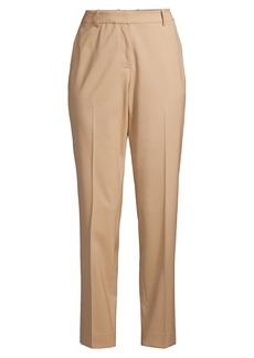 Lafayette 148 Clinton Stretch-Wool Ankle Pants