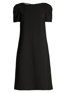 Lafayette 148 Cohen Short-Sleeve Dress