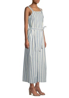 Colette Cotton Stripe Jumpsuit