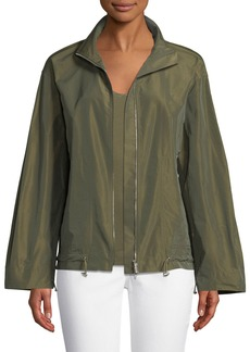 Lafayette 148 Colton Empirical Tech Cloth Jacket