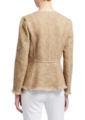 Lafayette 148 Copping Botanical Tweed Jacket