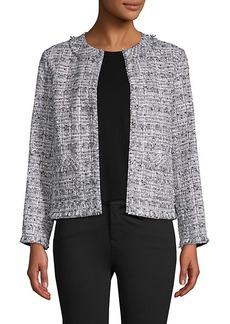 Lafayette 148 Cotton-Blend Tweed Jacket