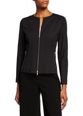 Lafayette 148 Courtney Fundamental Bi-Stretch Jacket