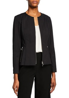 Lafayette 148 Courtney Fundamental Bi-Stretch Jacket