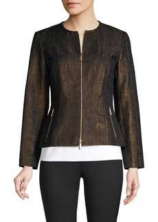 Lafayette 148 Courtney Printed Jacket