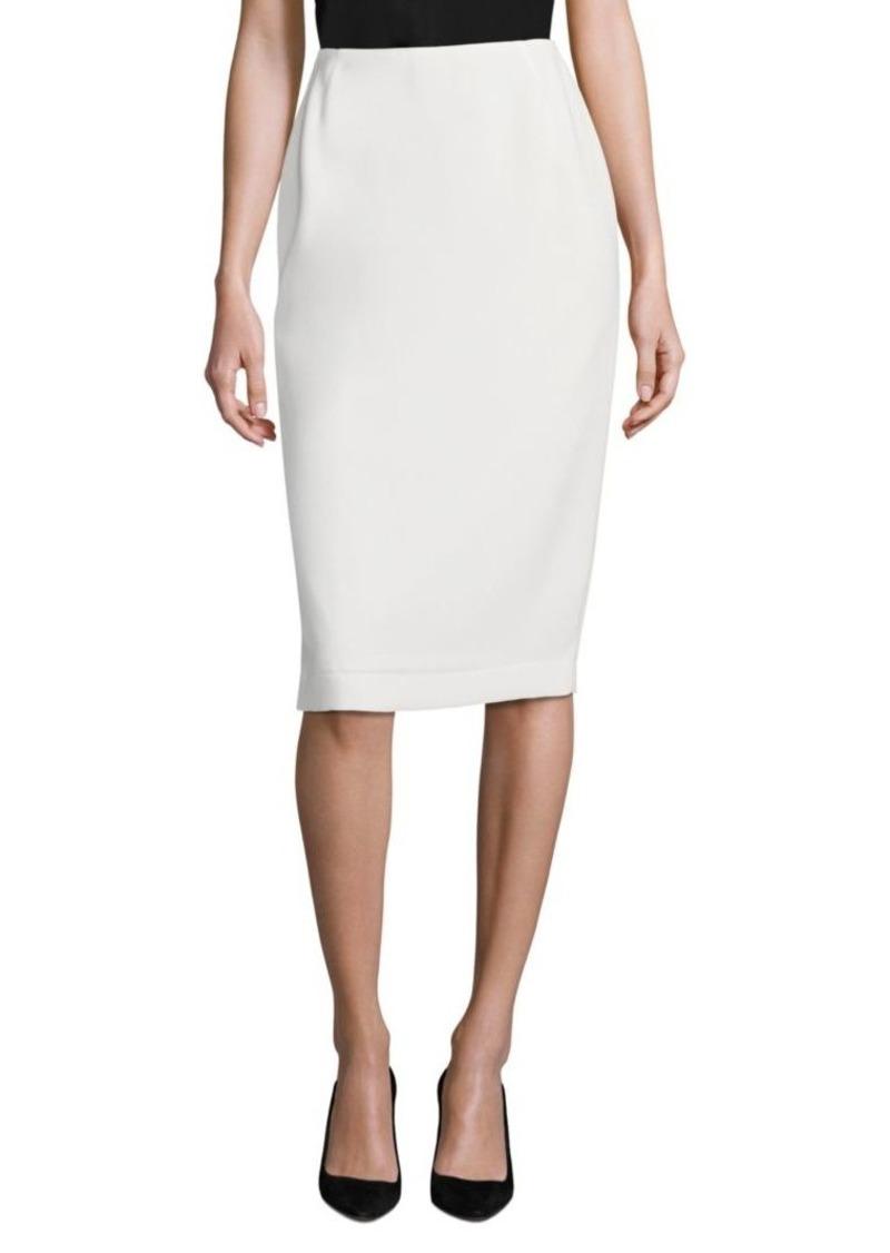 Lafayette 148 Crepe Pencil Skirt