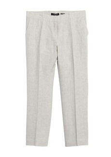 Lafayette 148 Cropped Manhattan Trousers
