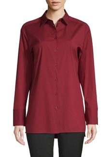 Lafayette 148 Dannell Long-Sleeve Shirt