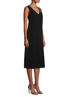 Lafayette 148 Dante Embellished Midi Dress