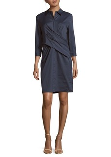 Lafayette 148 Daphne Cotton-Blend Dress