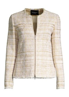 Lafayette 148 Dash Artful Tweed Jacket