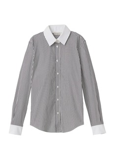 Lafayette 148 Davitt Centennial Stripe Shirt
