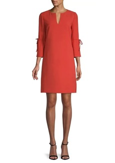 Lafayette 148 Deandra Quarter-Sleeve Shift Dress