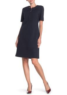 Lafayette 148 Demi Zip Front Dress