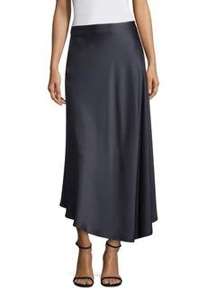 Lafayette 148 Dessie Satin Midi Skirt